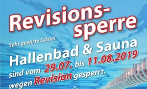 Revisionssperre!