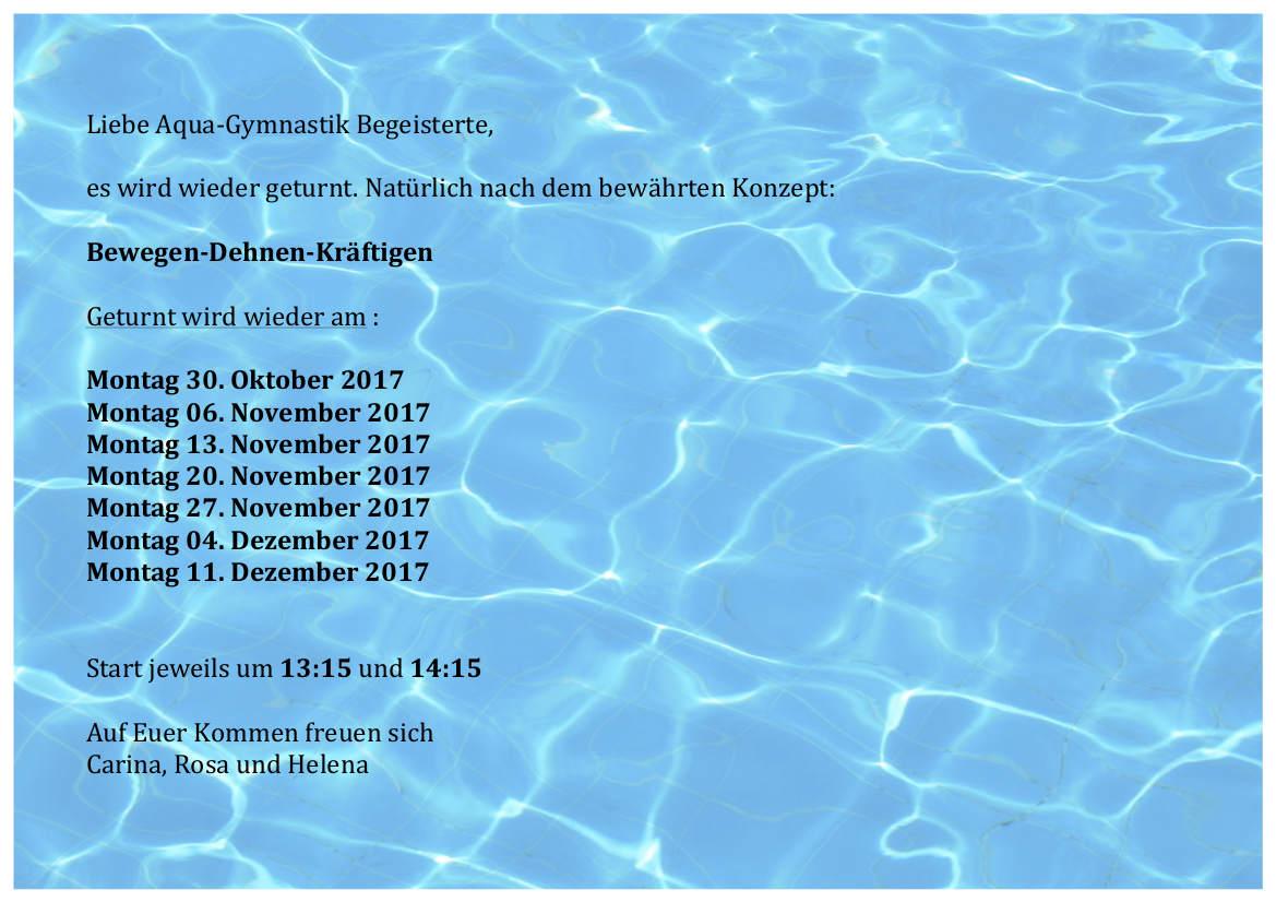 Aquagymnastik_Termine_Herbst2